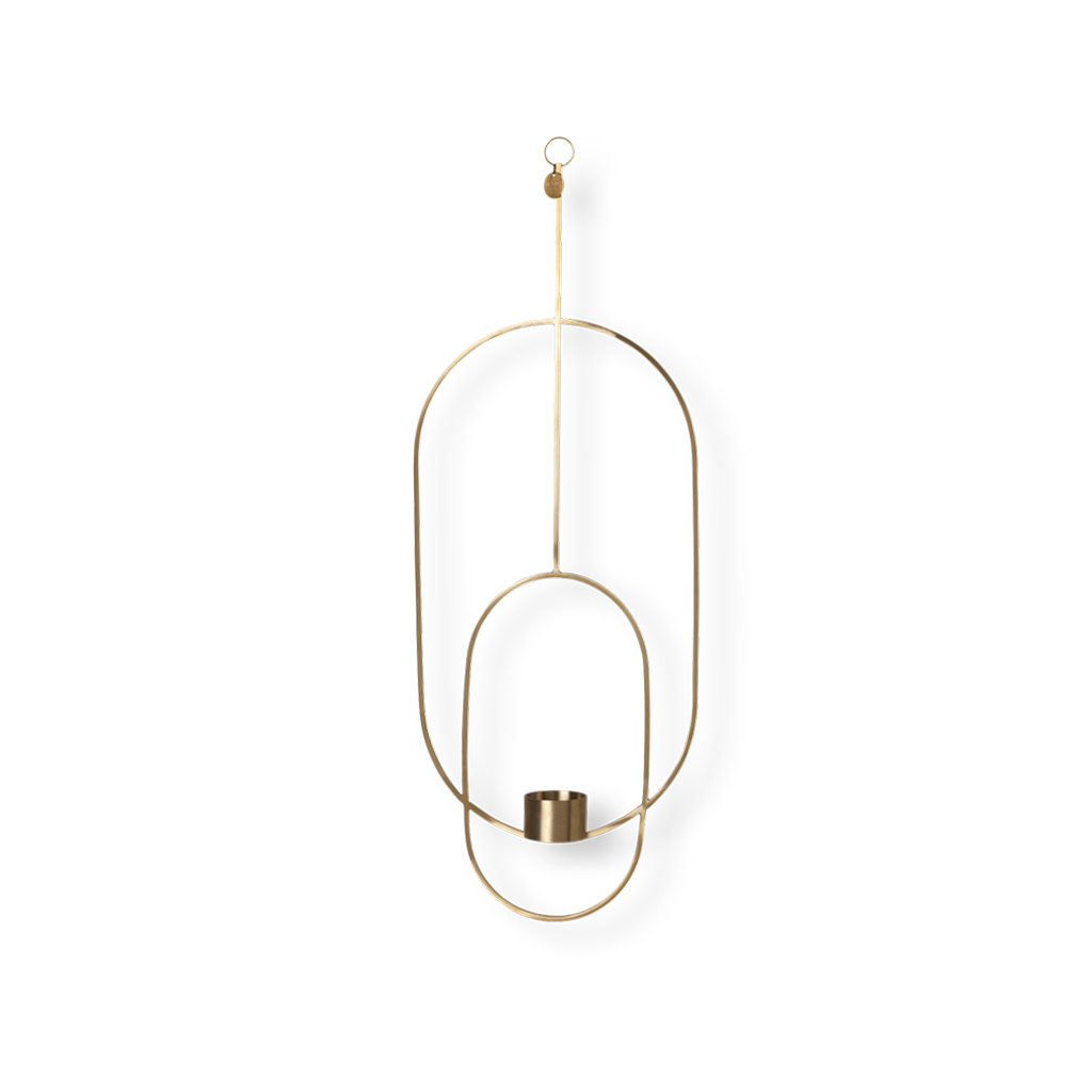 Oval Hanging Tealight Candle
