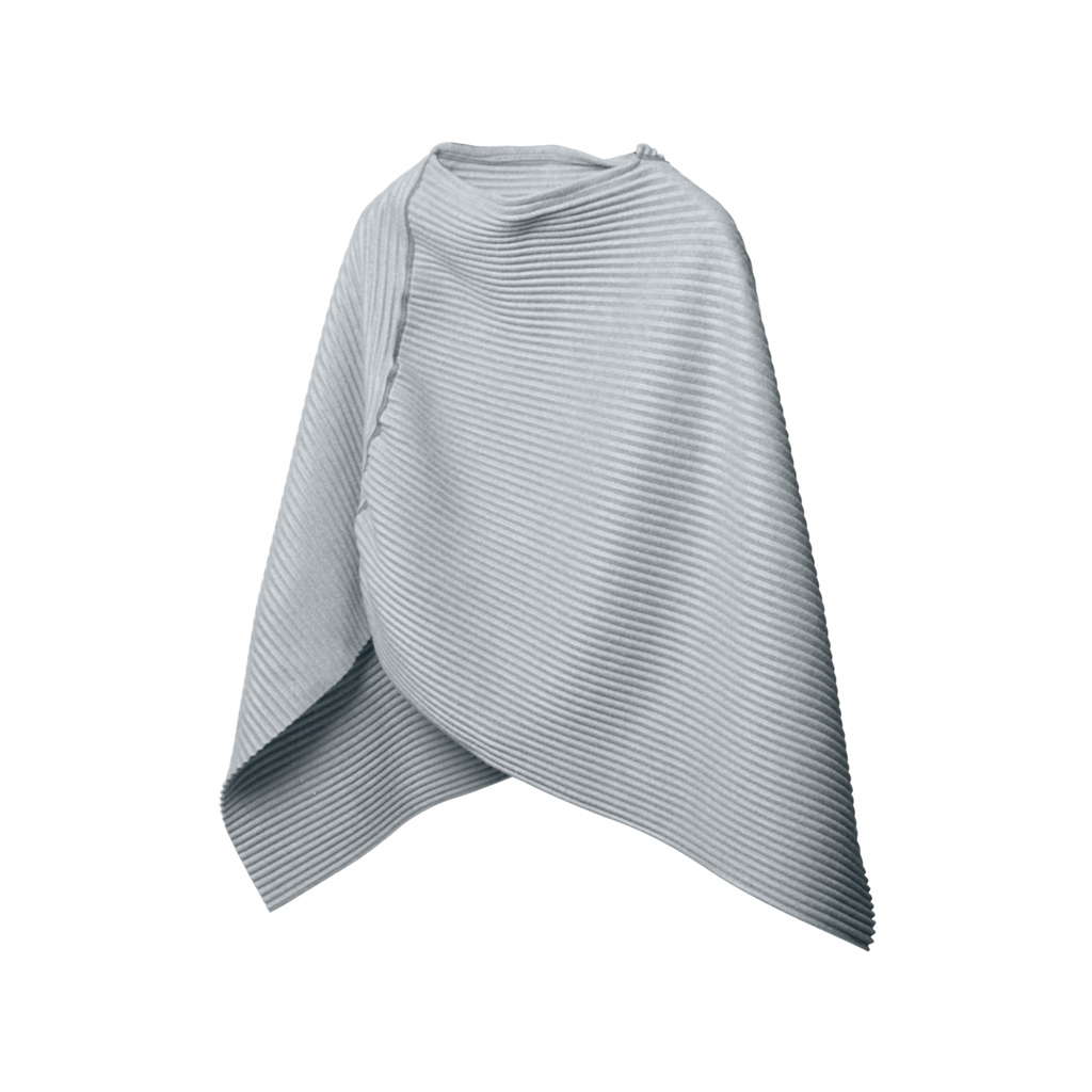 Pleece Poncho, Light Grey